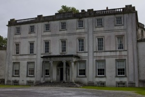 The estate at Strokestown, now home to the National Famine museum. Home to the Mahon family until 1979, the estate and its owners were responsible for the evictions and deaths of thousands their tenants during the famine.