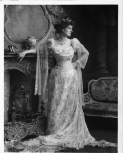 Countess Markievicz In Ball Gown Circa 1900